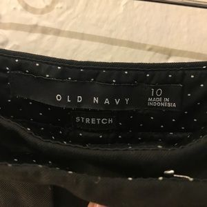 Old Navy Skirts - Black tuxedo skirt - old navy
